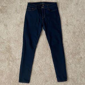 J Brand Dark Wash Skinny Jean Size 28